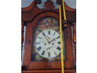 Antique Longcase Grandfather Clock
