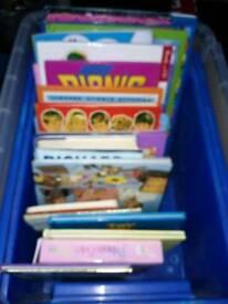 Books. Box kids books £5
