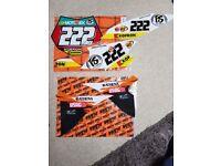 KTM Cairolli Edition Number Graphics Kit