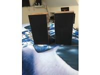 B and O book shelf speakers in TEAK Just serviced
