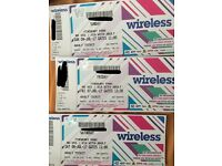 Wireless Festival weekend ticket - Friday, Saturday & Sunday