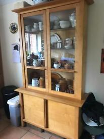 Solid wood M&S Display Cabinet