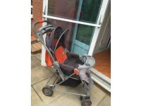 Pushchair, buggy - reversible