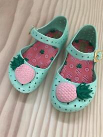 Mini Melissa girl's shoes