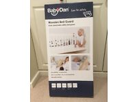 Baby Dan Wooden Bed Guard - White