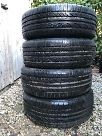 4 *like new* car tires 205-55-16
