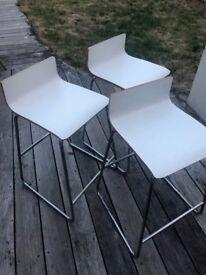 BAR STOOL x 3 - IKEA SEBASTIEN