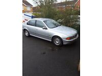 BMW 528i se silver 105k service history mot 1 previous owner price reduced to sell