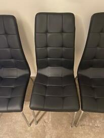 Immaculate Calgary Dining Chairs (may split)