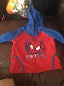 Boys top spider man
