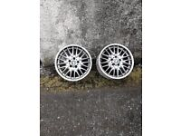 Set of Genuine Bmw Mv1 m sport wheels
