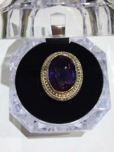 #380 BEAUTIFUL ALEXANDRITE STONE SET IN A 14K GOLD RING SIZE 6 5/8 ~ *JUST BACK FROM APPRAISAL AT $1200.00* ~