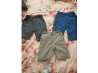 3 pairs of boys shorts age 5-6. Hardly worn