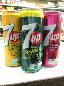 7UP MOJITO CHERRY EXOTIC