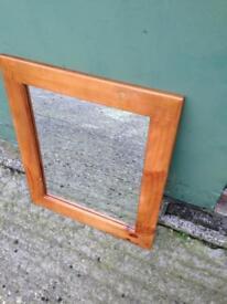 Pine Mirror 2ft x 2ft