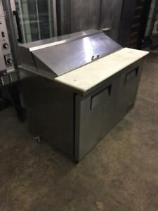 48 inch True Salad Topping Table like new only $1450