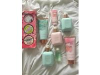 Soap and glory gift set and ted baker bathing items