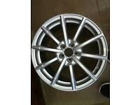 "Genuine 17"" Audi alloy"