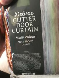 2vleft not had long door rainbow glitter curtains at fiver each