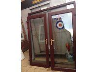upvc french doors with 5 keys £120
