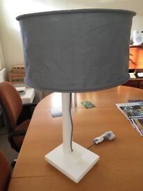 2 x lamps and matching light shade