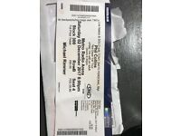 Phil Collins tickets, two good seats. Newcastle Metro Arena. Saturday 02 December