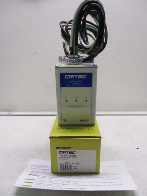 Erico TDX50C 277/480 Compact Surge Protection Device
