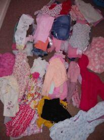 Huge 100+ 1-2 yrs Girls bundle