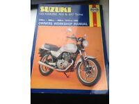 Suzuki GS/GSX250, 400 & 450 twins
