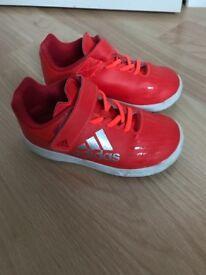 Boy's Adidas Ortholite trainers size 8 (Toddler)