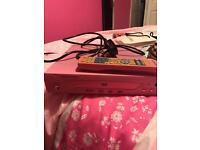 Pink DVD player