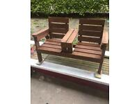 Handmade garden furniture