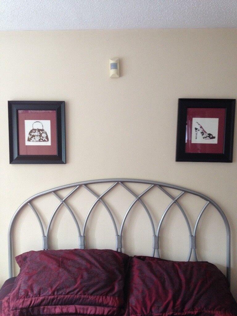 Bedroom Pictures x2 (37x42cm)