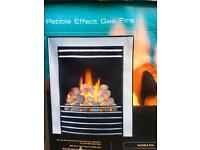 Focal Point Pebble gas affect fire place