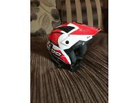 Hebo zone 4 link trails helmet in red
