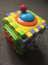 interactive cube - toy