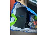 PlayStation 2 with games bundle