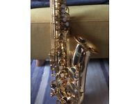 YAMAHA ALTO SAXOPHONE YAS 275 IMMACULATE CONDITION HARDLY USED WITH MOUTHPIECE AND HARD CASE