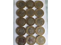 Collection of rare/limited addition £2 coins