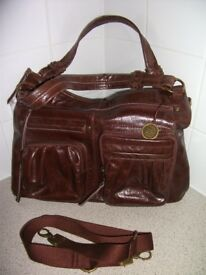 """New Leather Tote Bag by """"The Sak"""""""