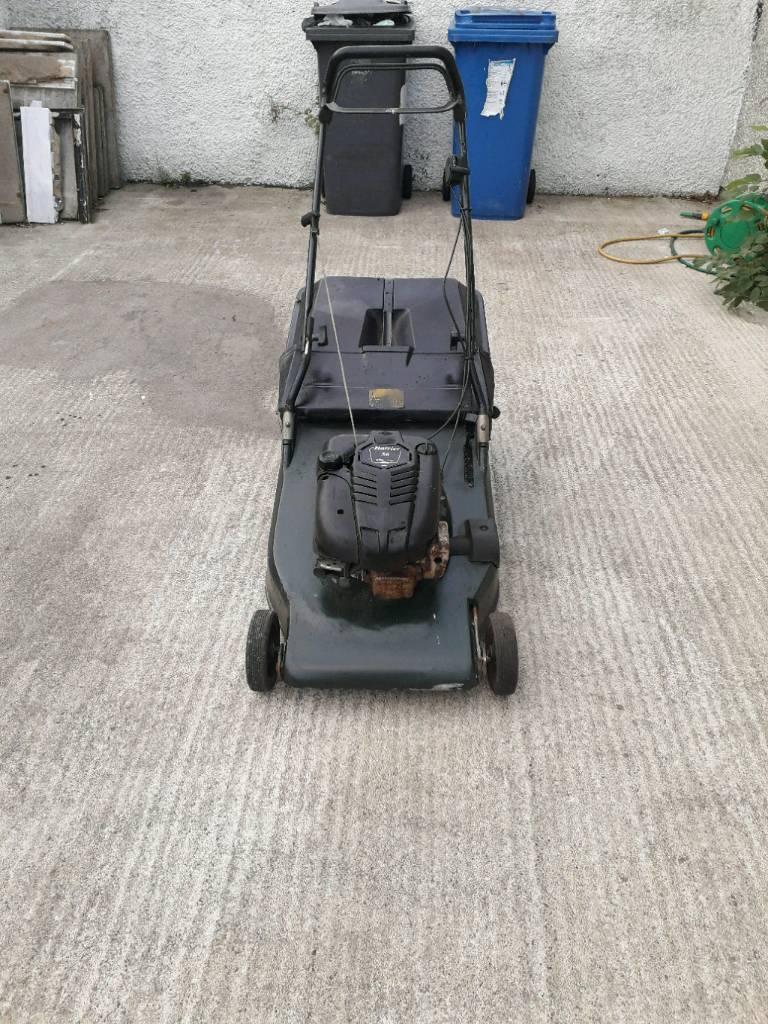 Hayter harrier 56 self drive lawnmower