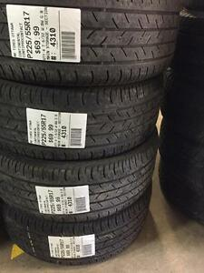 225/55/17 Continental Contipro Contact Allseasons tires