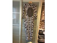 Primark Size 8/10 Zebra Onesie