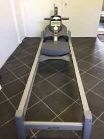 Tunturi R60 digital rowing machine in good condition and hardly used. Low price for quick sale.