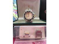 Ladies Gucci original watch v g c but worn with certificates