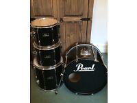 Pearl Export 4 Piece Drum Kit + Sabian Cymbals