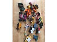 Very old mix of kids toy cars.. 25 years old