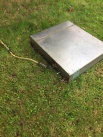STAINLESS FUEL TANK