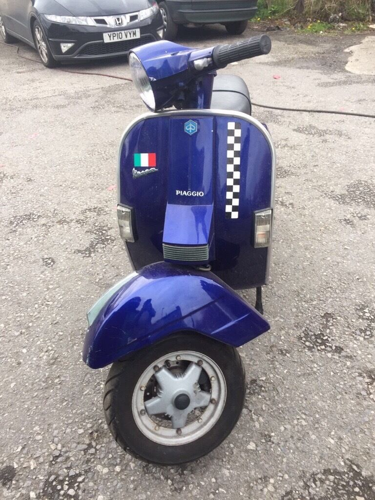 2000 vespa px 200 disc in pudsey west yorkshire gumtree. Black Bedroom Furniture Sets. Home Design Ideas