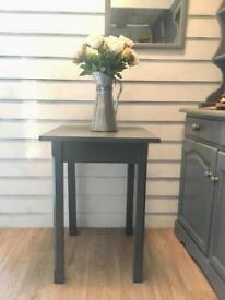 Dark Grey Occasional Table